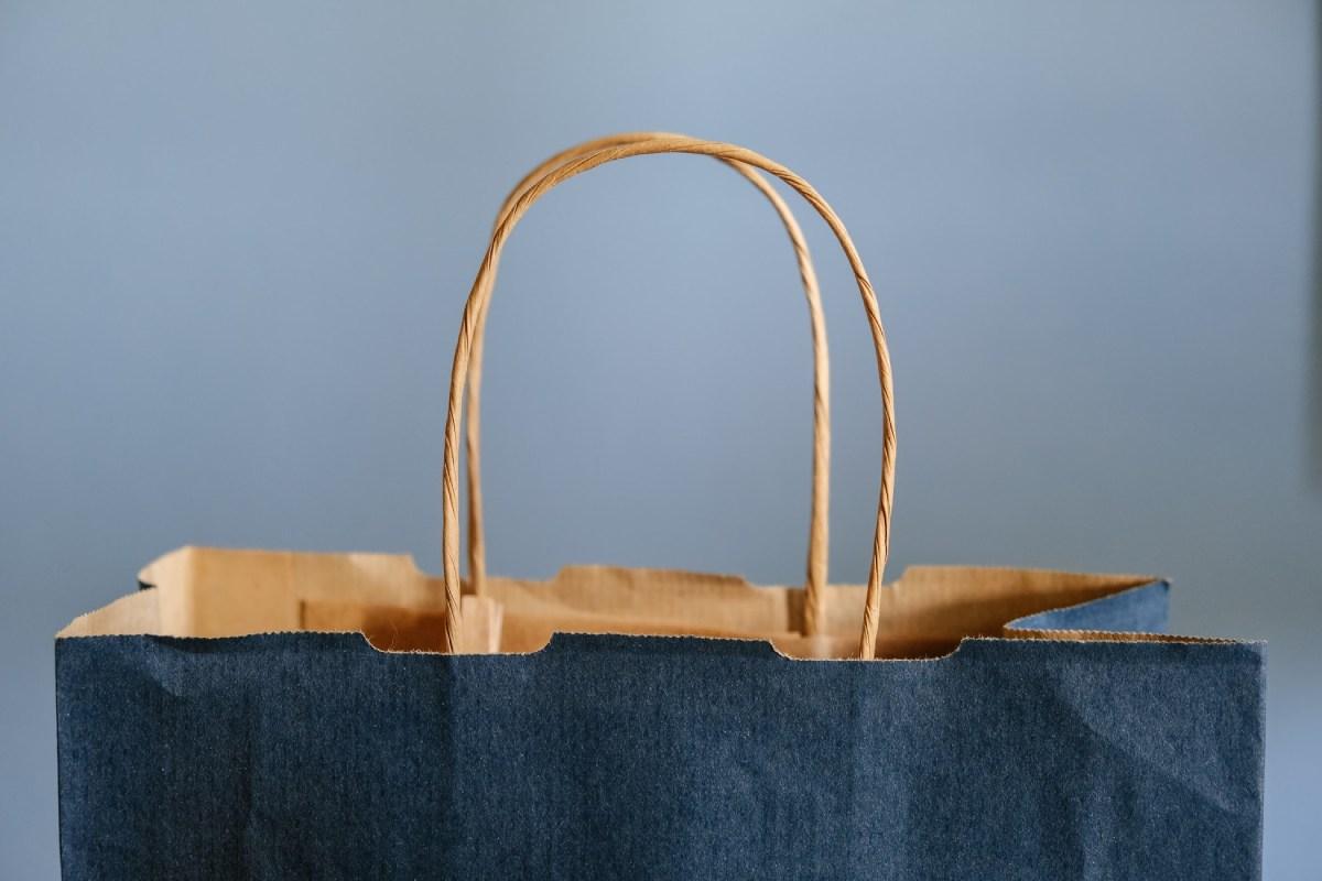 uchwyt torby zakupowej